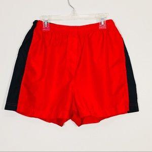 Nike Womens Running Shorts Size Medium Red